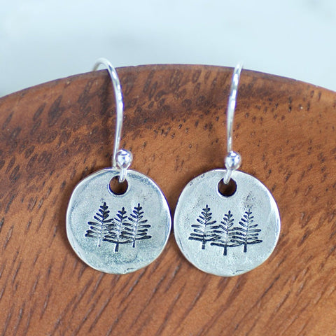 Pine Tree Earrings