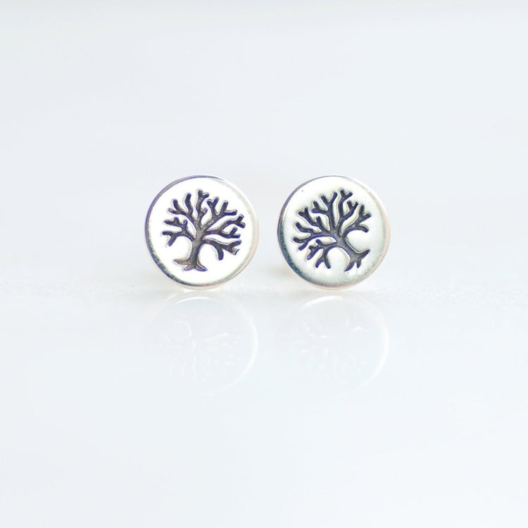 Tree of Life Earrings by Olive Bella.  Shop now at olivebella.com