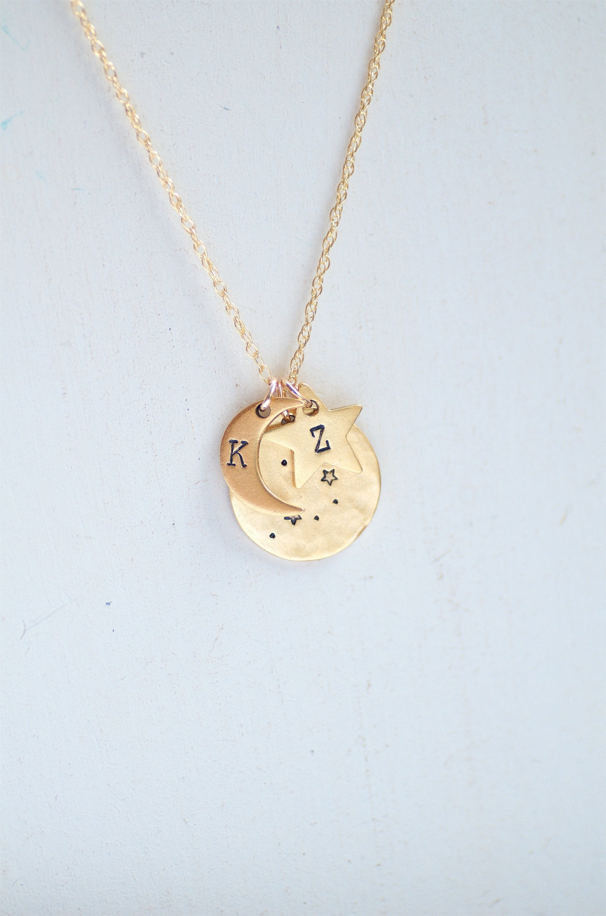 Sagittarius Zodiac Constellation Necklace by Olive Bella.  Shop now: https://olivebella.com