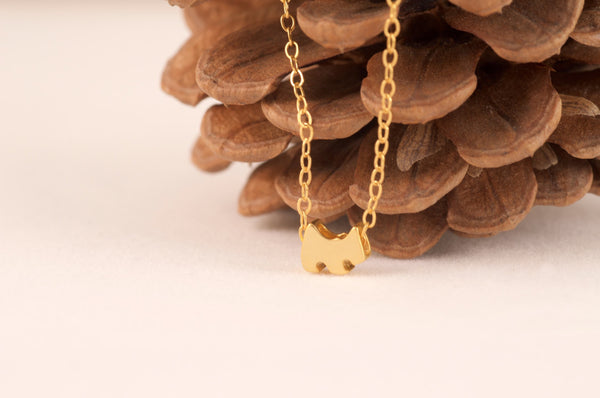Dainty Dog Necklace