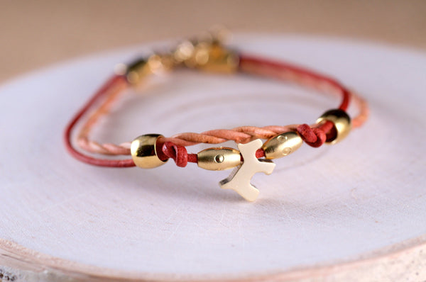 Dog Leather Bracelet