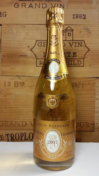 THIS JUST IN: 2007 Louis Roederer Cristal Brut