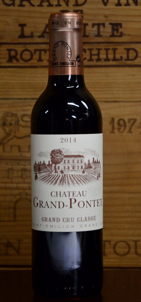 2014 Chateau Grand Pontet Saint Emilion (12/375ml)