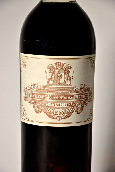 1900 Chateau Coutet Barsac