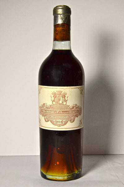 1914 Chateau Coutet Barsac