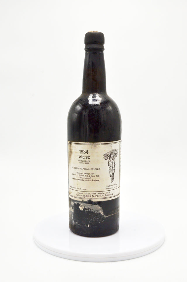 "1934 Warre Vintage Port ""Director's Special Reserve"""