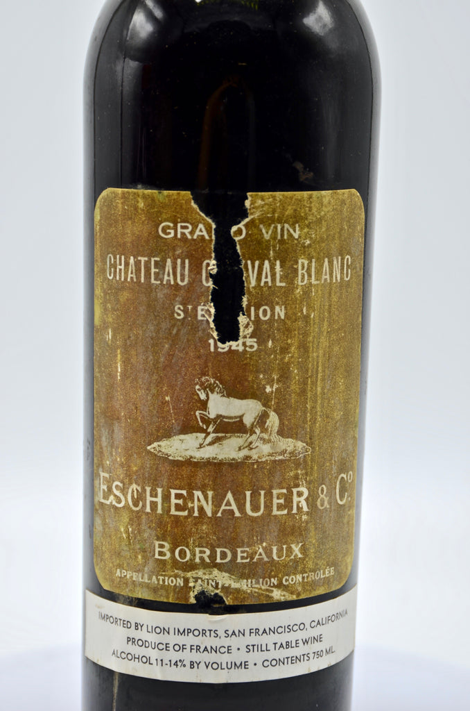 1945 Château Cheval Blanc, St. Emilion (Negocient Bottling)