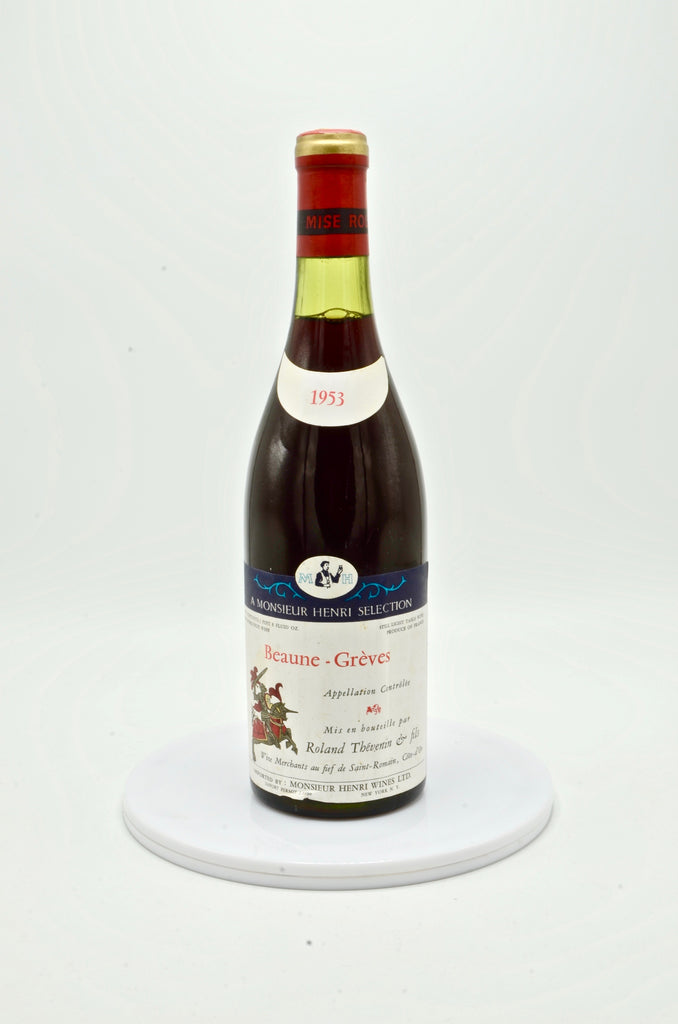 1953 R. Thevenin, Beaune Rouge Greves