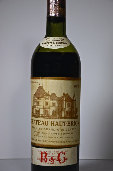 1953 Chateau Haut Brion Graves