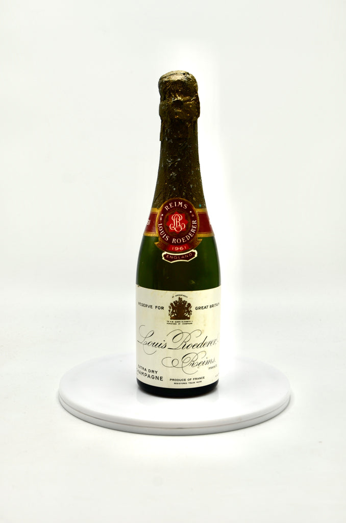 1961 Louis Roederer Champagne, Extra Dry, Great Britain Reserve (half-bottle)