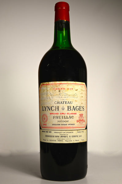 1962 Chateau Lynch Bages Pauillac magnum