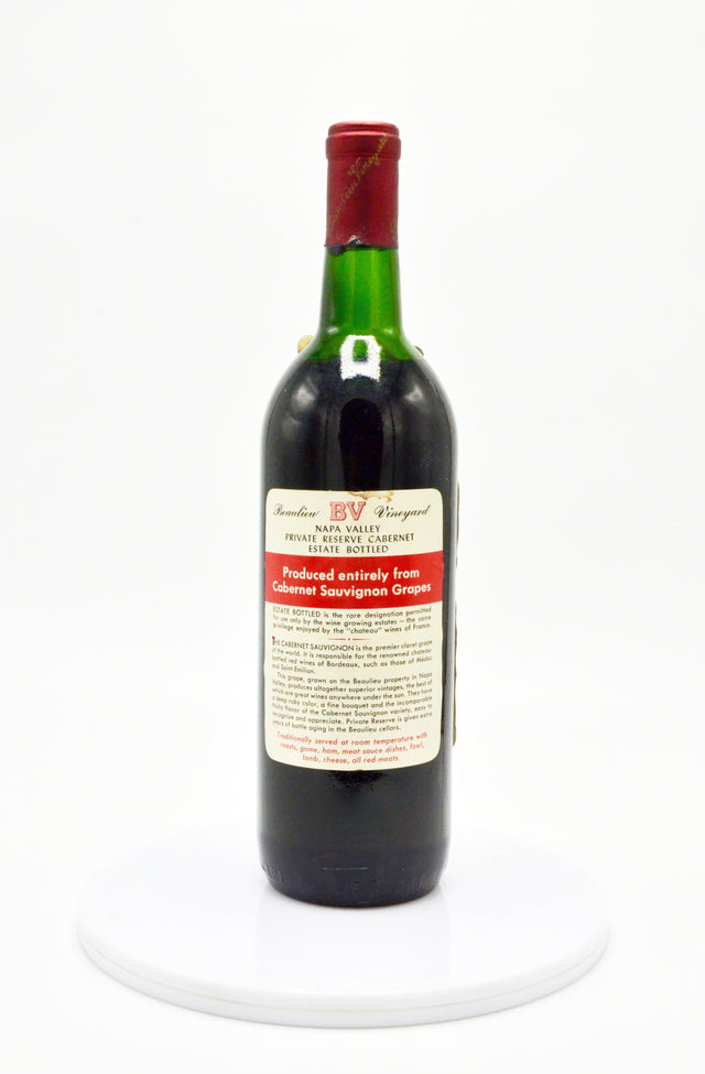 1966 Beaulieu Vineyard Private Reserve, Georges de Latour, Cabernet Sauvignon