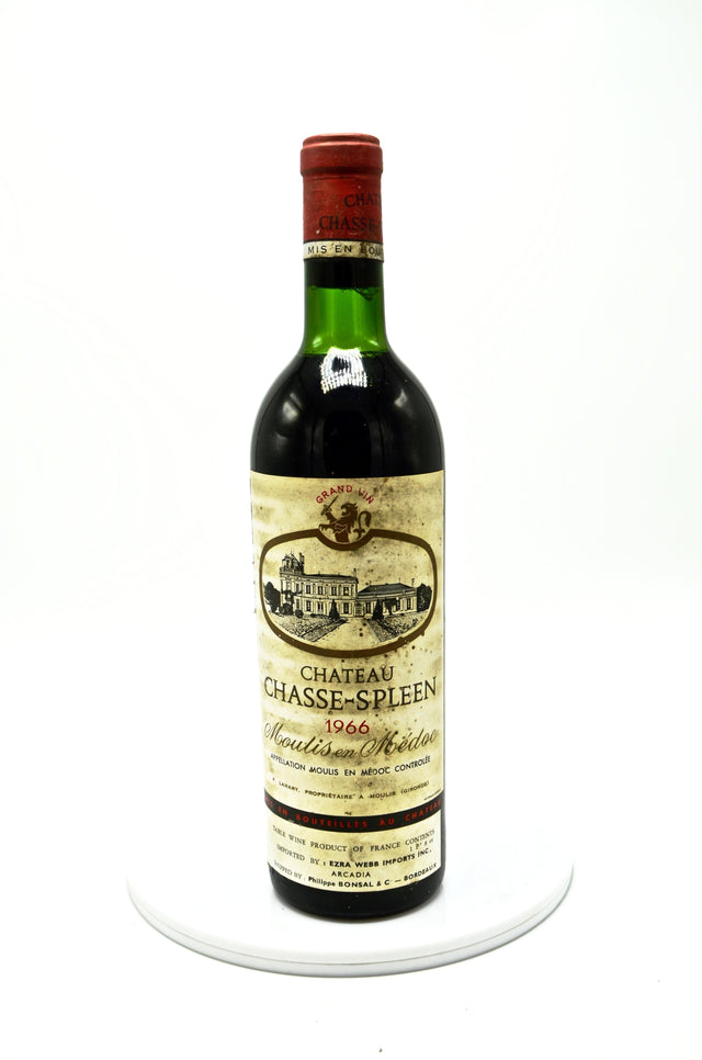 1966 Château Chasse Spleen, Moulis
