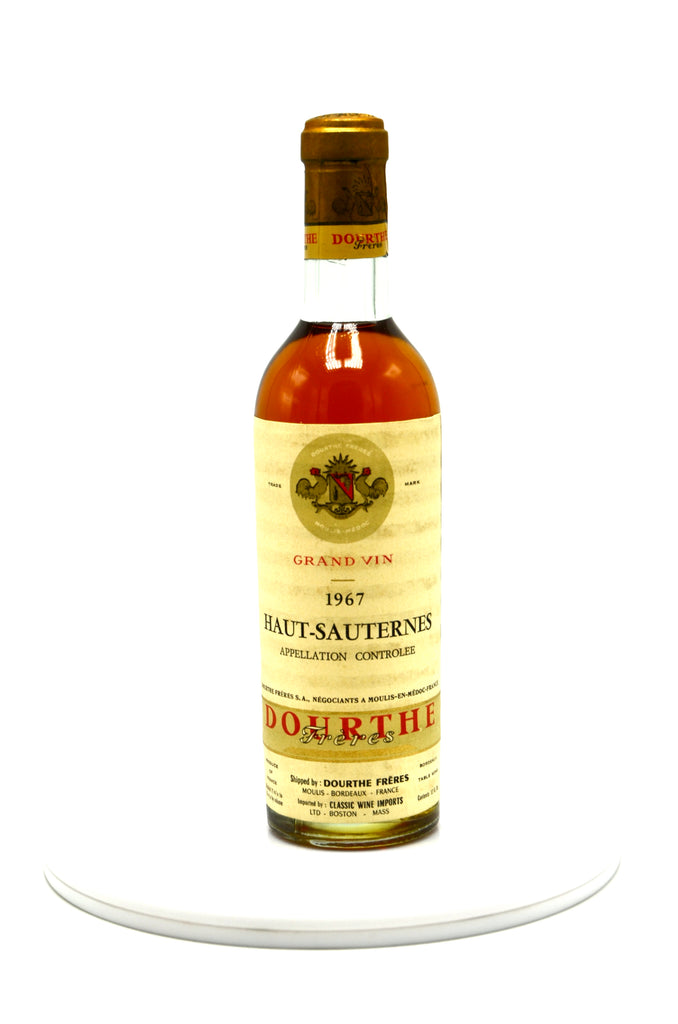 1967 Chateau Haut Sauternes (half-bottle)