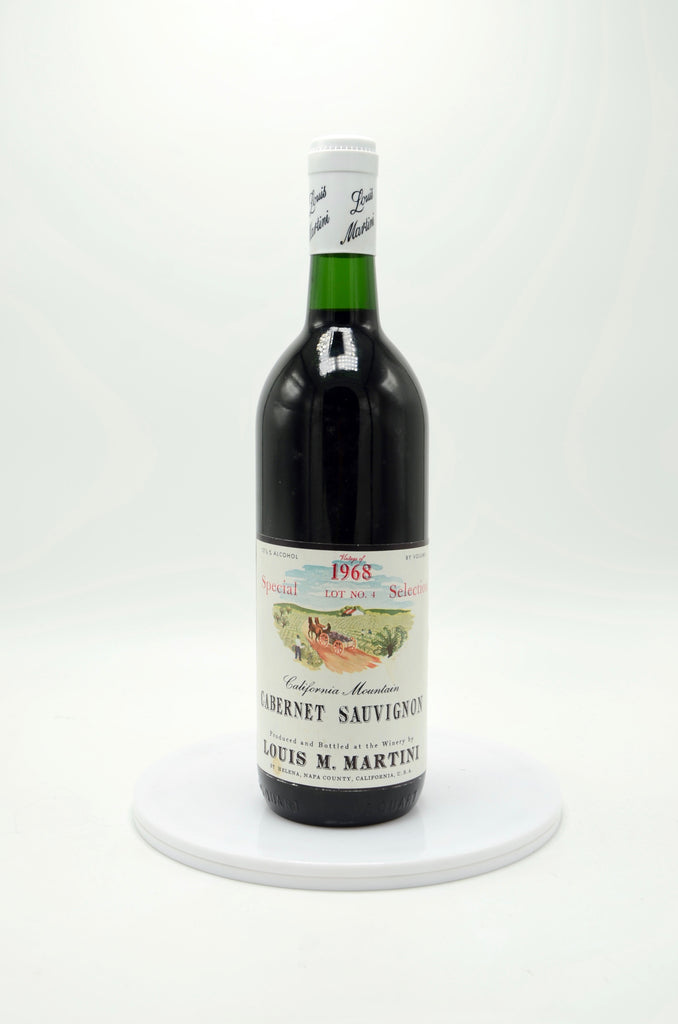 1968 Louis Martini Cabernet Sauvignon Special Selection Lot #4