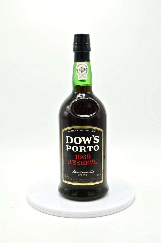 1969 Dow's Reserve Port