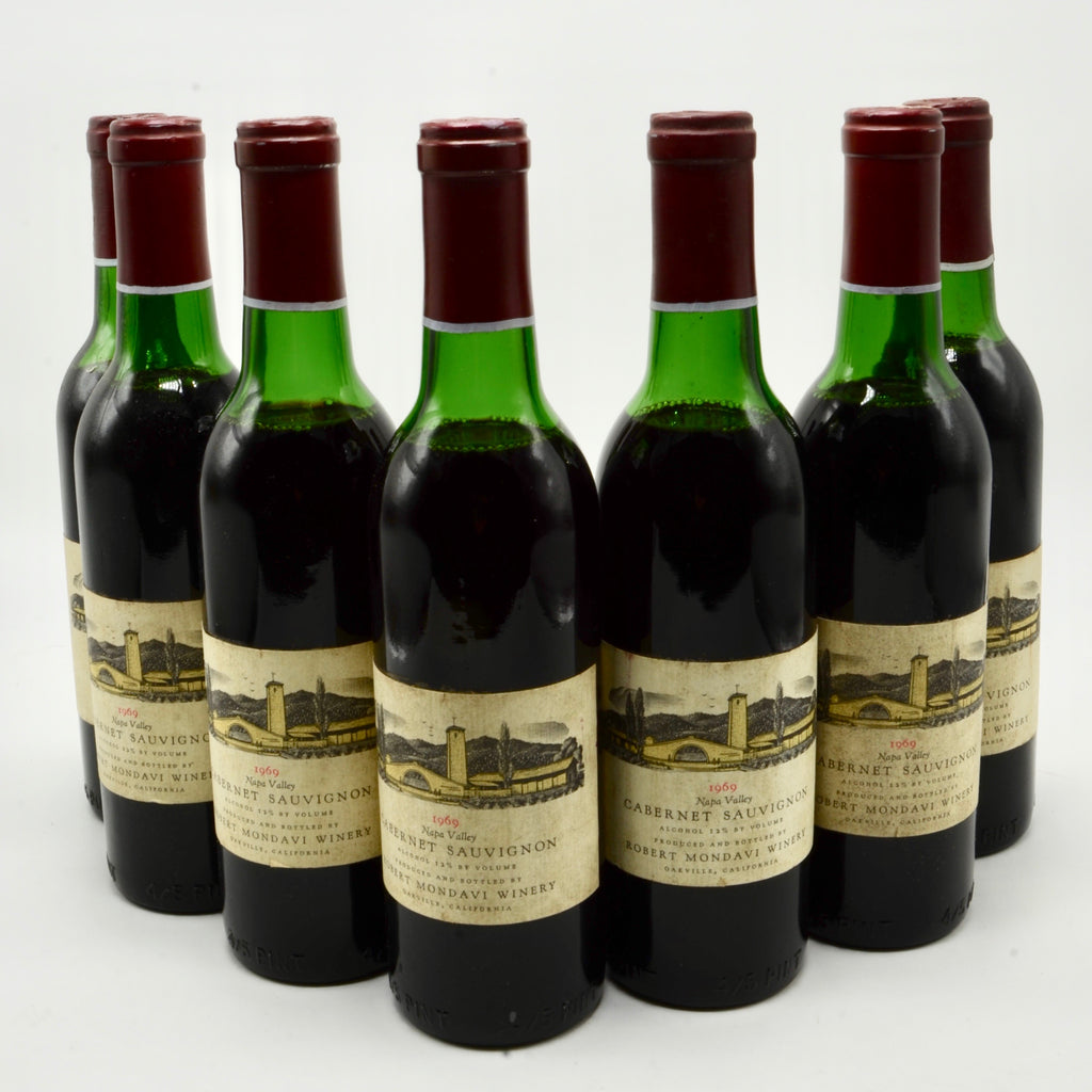 1969 Robert Mondavi Cabernet Sauvignon, Napa Valley (half-bottle)