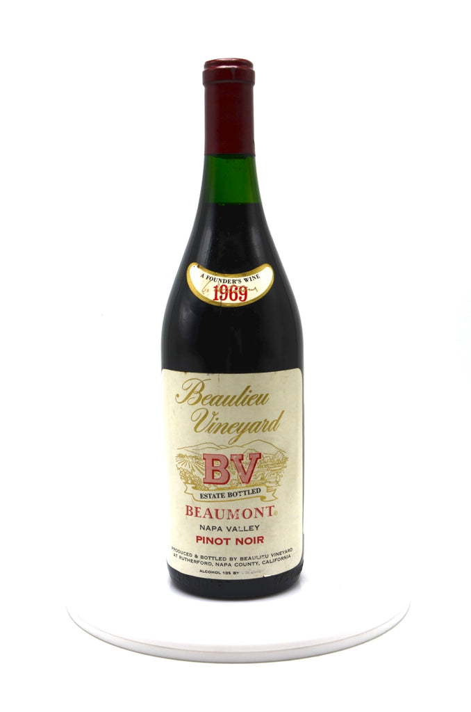 1969 Beaulieu Vineyard Pinot Noir, Beaumont, Napa Valley
