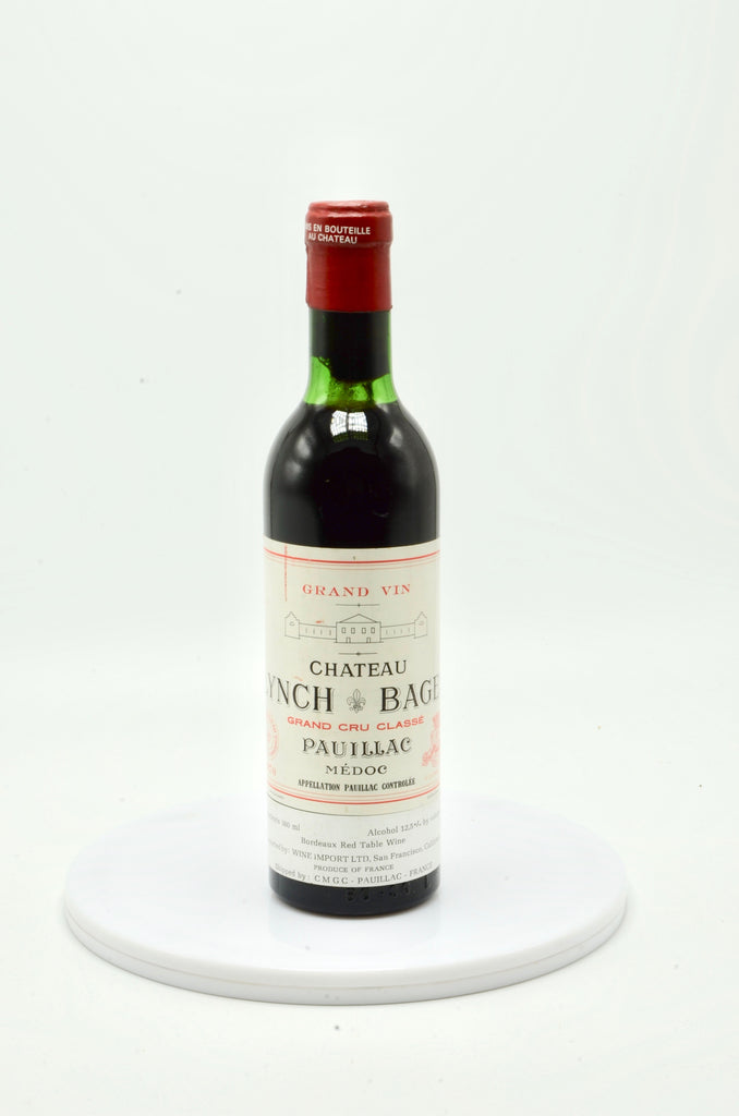 1970 Château Lynch Bages, Pauillac (half bottle)
