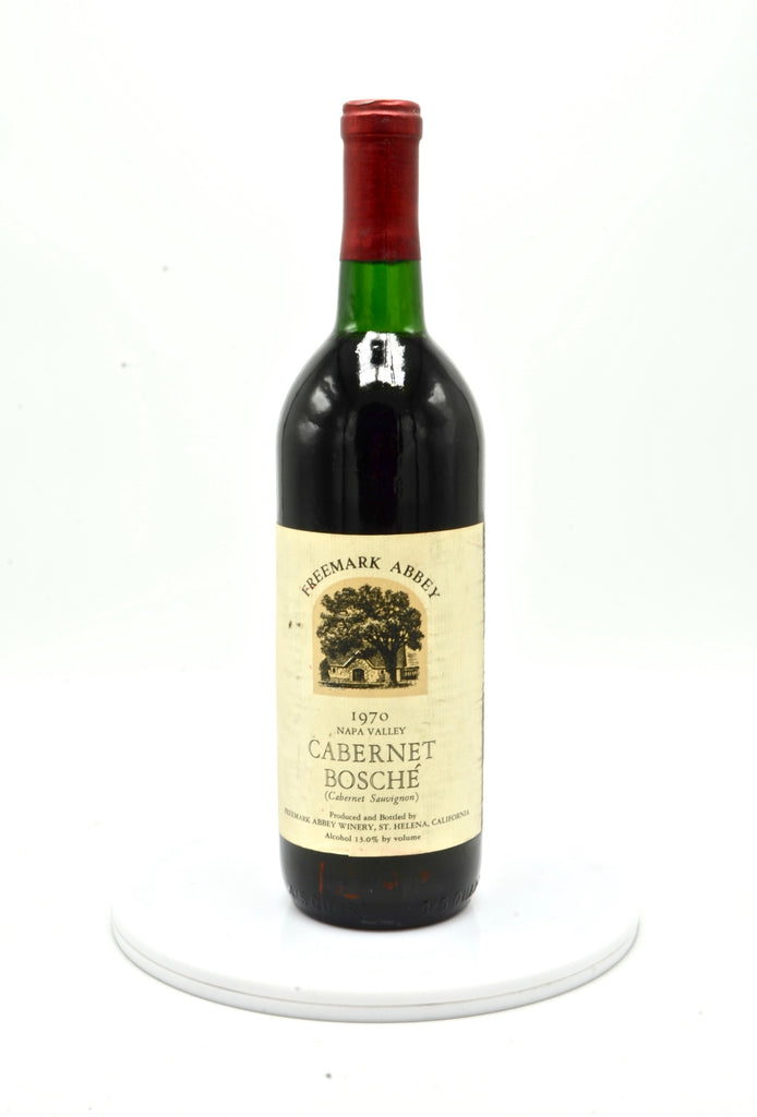 1970 Freemark Abbey Cabernet Sauvignon, Bosche Vineyard