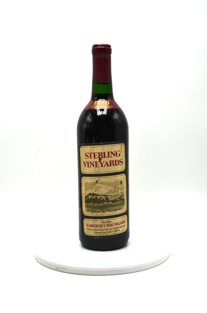 1970 Sterling Vineyards Cabernet Sauvignon, Napa Valley
