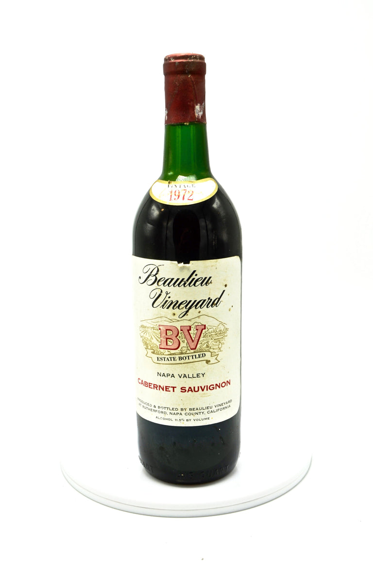 1972 Beaulieu Vineyard Cabernet Sauvignon, Napa Valley
