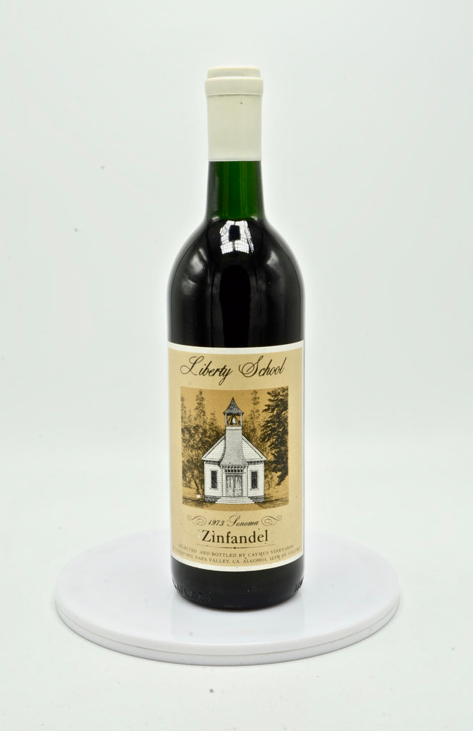 1973 Liberty School Zinfandel, Sonoma County [selected & bottled by Caymus Vineyards]