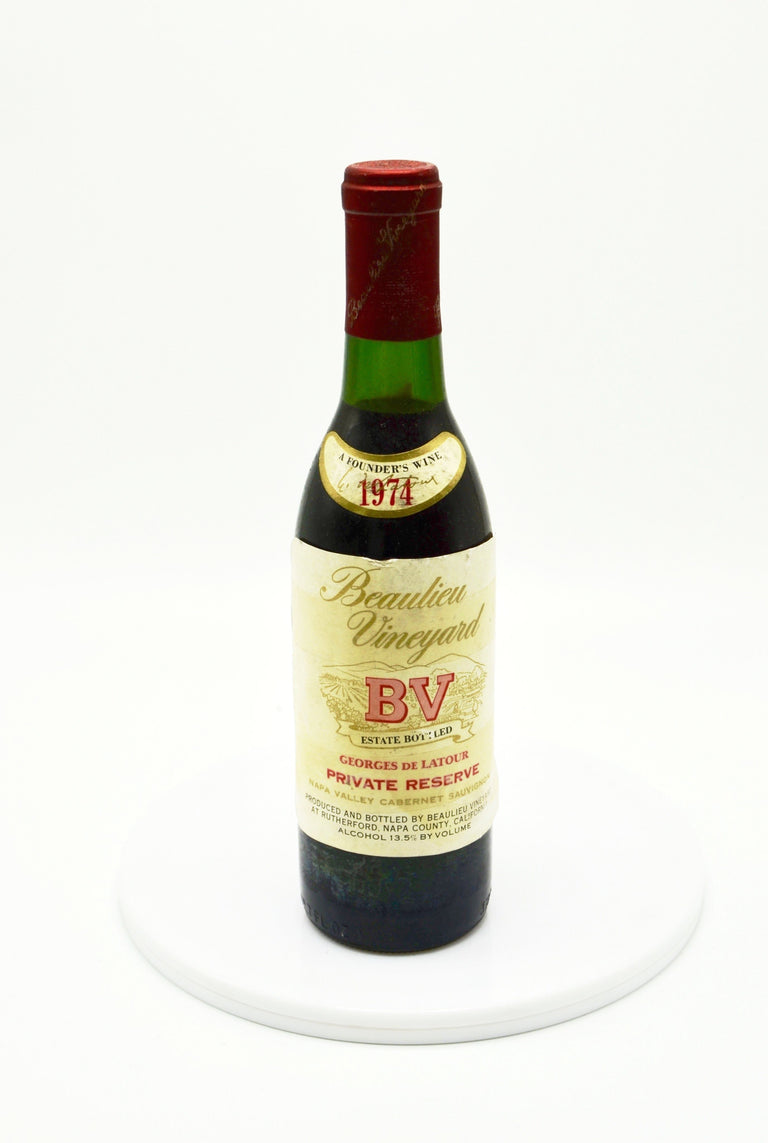 1974 Beaulieu Vineyard Georges de Latour Cabernet Sauvignon, Napa Valley Private Reserve (Half-Bottle)
