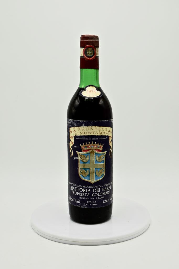 1974 Barbi Brunello di Montalcino Colombini (720ML)