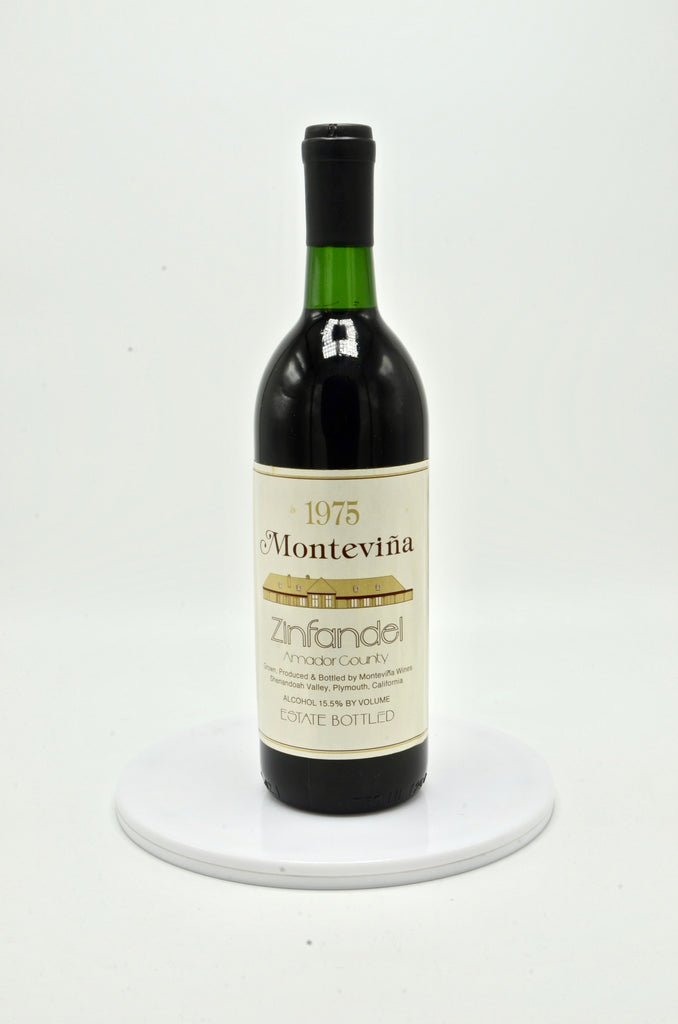 1975 Montevina Zinfandel Estate Bottled, Amador County