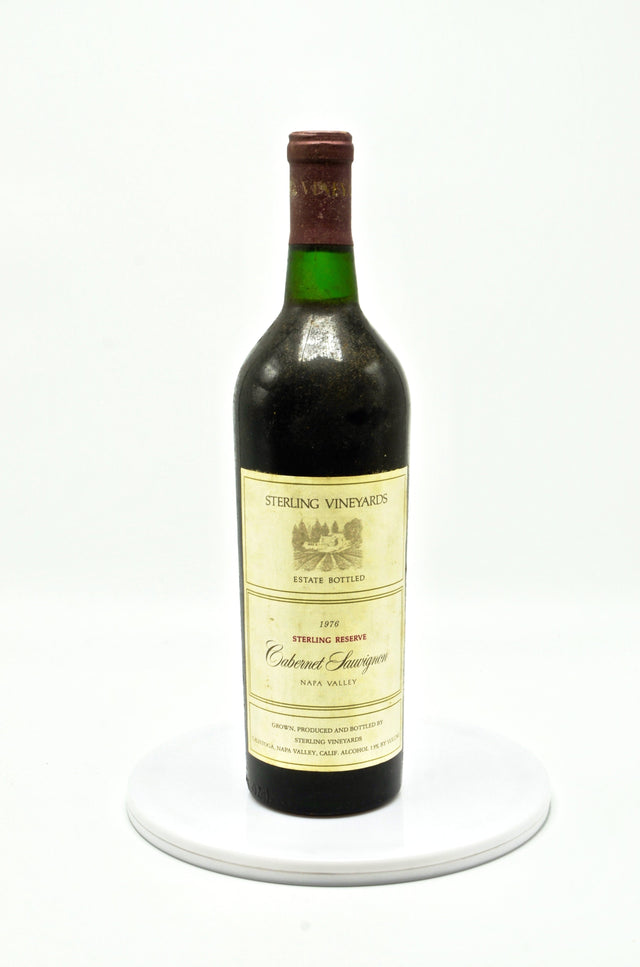 1976 Sterling Vineyards Cabernet Sauvignon Reserve