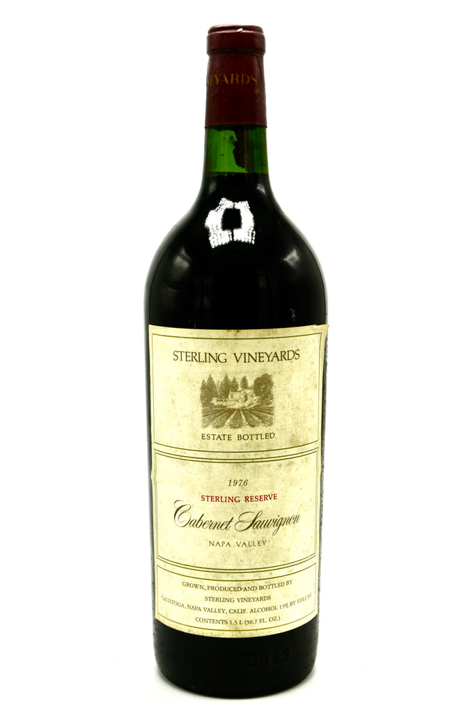 1976 Sterling Vineyards Cabernet Sauvignon Reserve (magnum)
