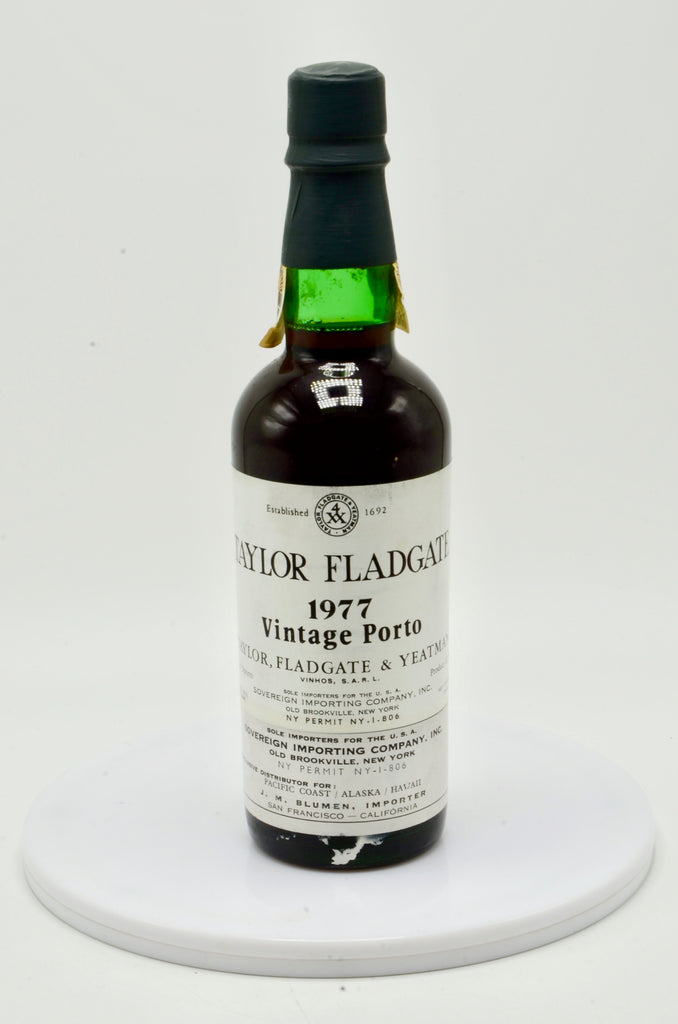 1977 Taylor Fladgate Vintage Port (half bottle)