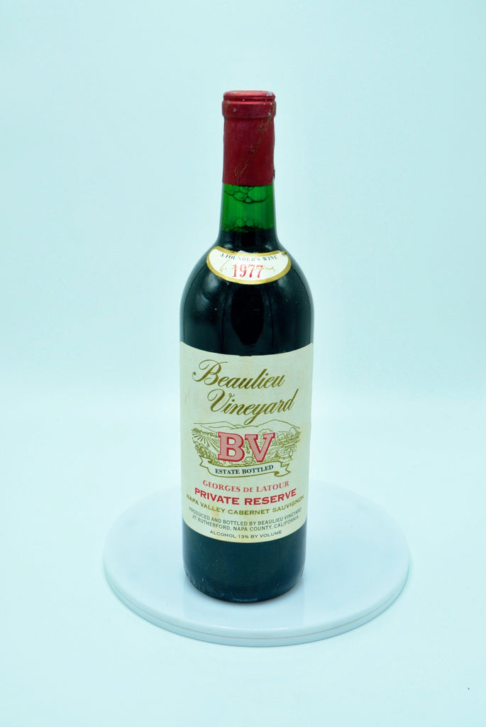 1977 Beaulieu Vineyard, Georges de Latour, Private Reserve Cabernet Sauvignon, Napa Valley