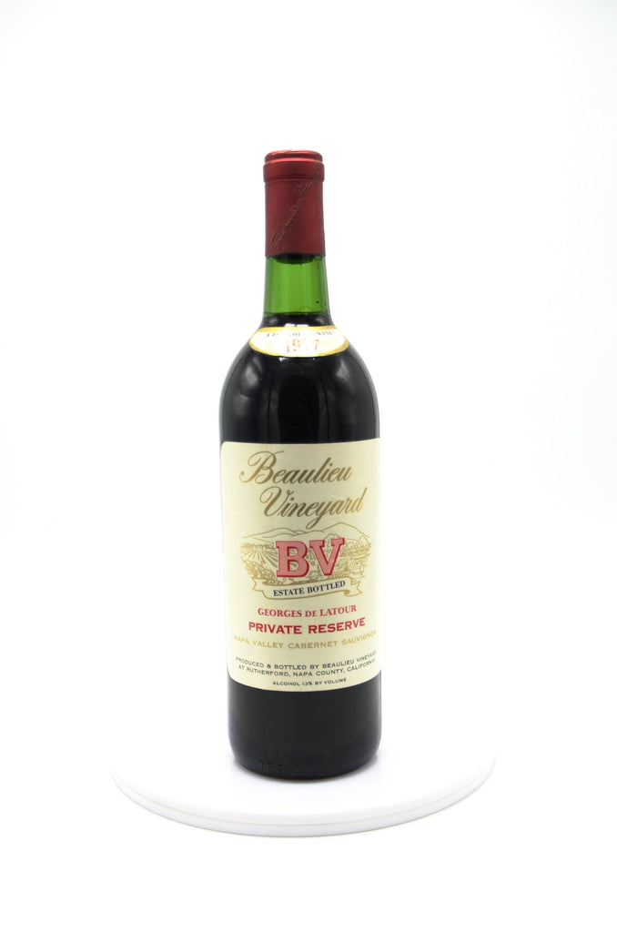 1977 Beaulieu Vineyard Georges de Latour Private Reserve Cabernet Sauvignon, Napa Valley