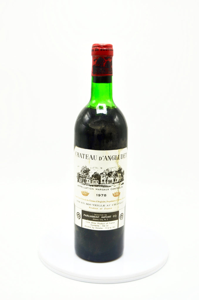 1978 Château d'Angludet, Margaux