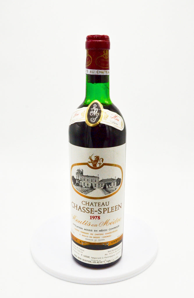 1978 Château Chasse-Spleen, Moulis