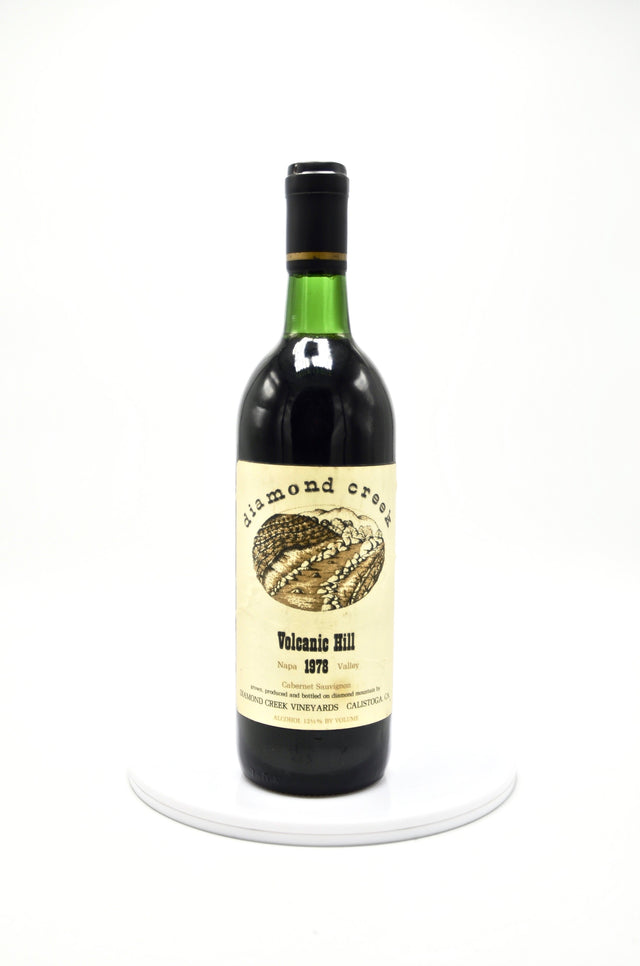 1978 Diamond Creek Cabernet Sauvignon, Volcanic Hill