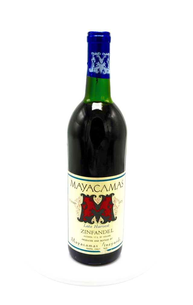1978 Mayacamas Vineyards Zinfandel Late Harvest