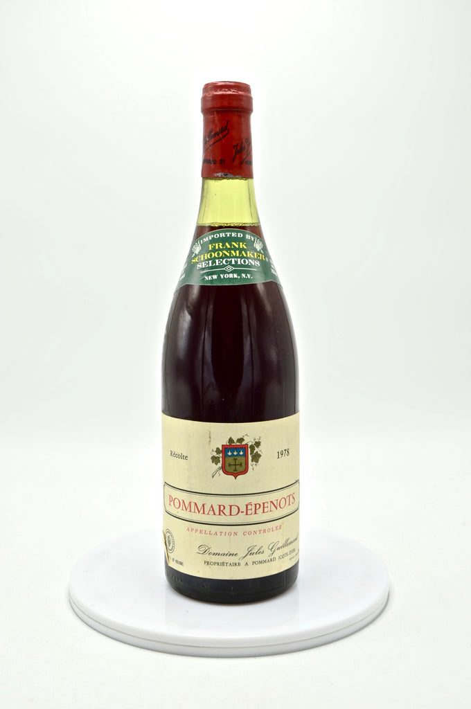 1978 Domaine J. Guillemard, Pommard, Les Epenots