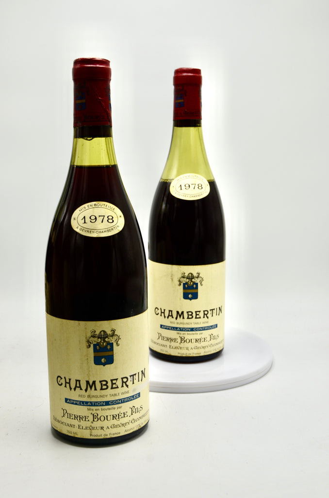 1978 Pierre Bouree Chambertin, Grand Cru