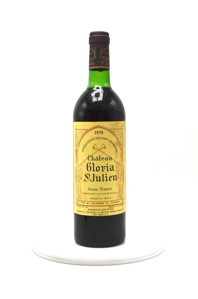 1978 Chateau Gloria, St. Julien