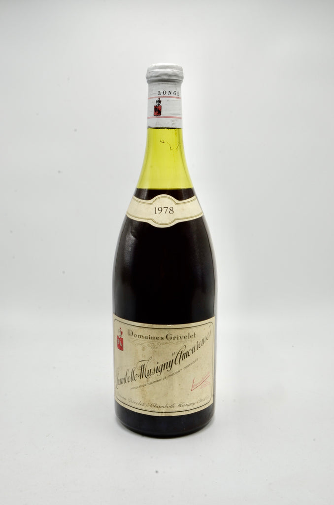 1978 Grivelet Chambolle Musigny Les Amoureuses (magnum)