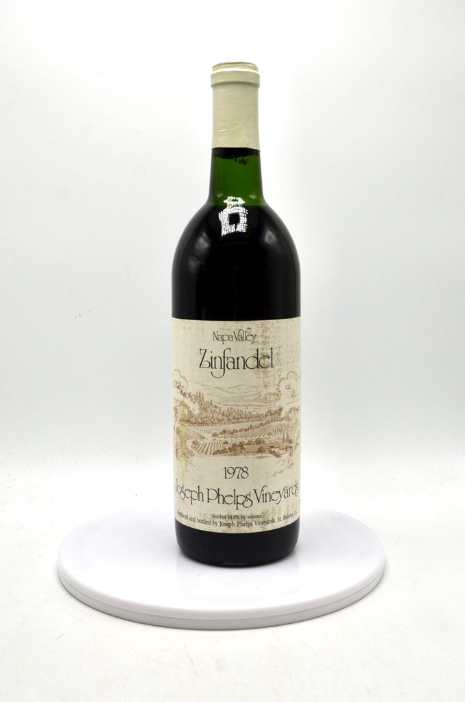 1978 Joseph Phelps Vineyards Zinfandel, Napa Valley