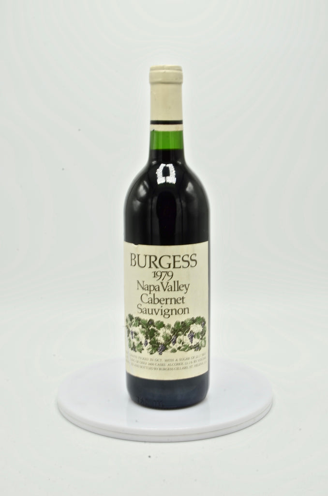 1979 Burgess Cabernet Sauvignon Vintage Selection, Napa Valley