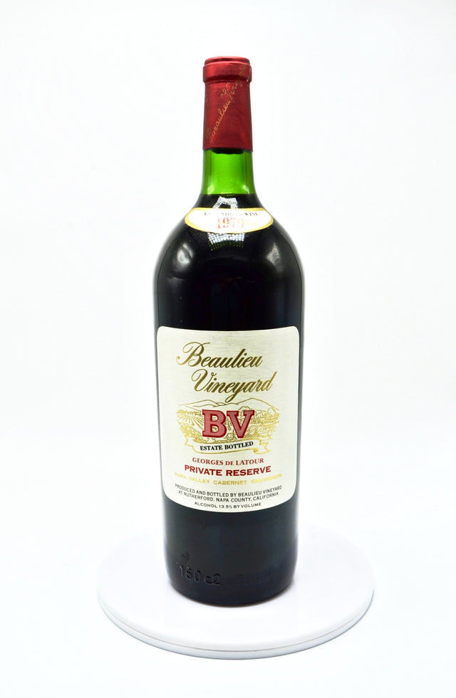 1979 Beaulieu Vineyard Georges de Latour Private Reserve, Napa Valley (magnum)