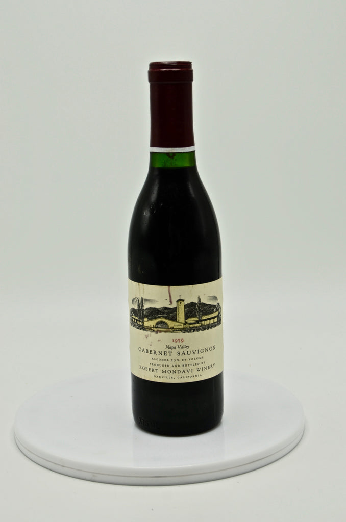1979 Robert Mondavi Cabernet Sauvignon, Napa Valley (half-bottle)