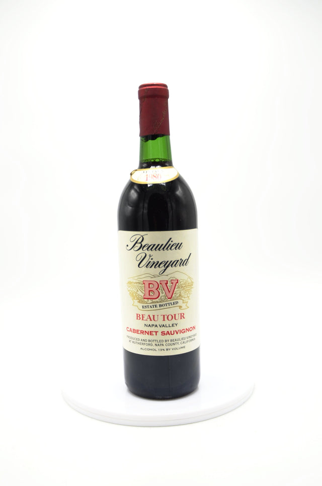 1980 Beaulieu Vineyard Estate Beau Tour Cabernet Sauvignon