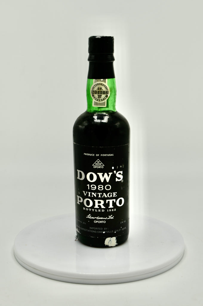1980 Dow Vintage Port (half bottle)