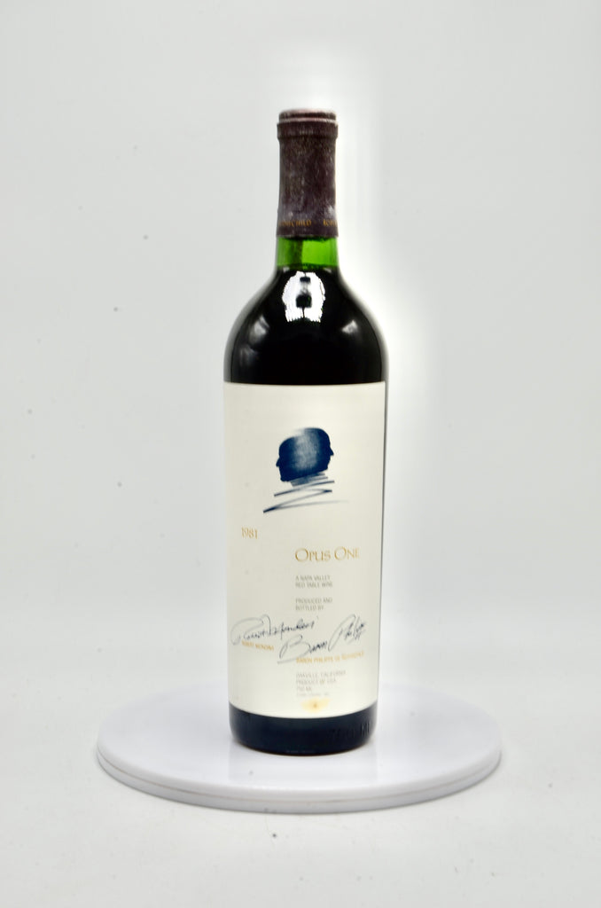 1981 Opus One, Napa Valley